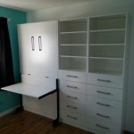 Murphy Bed with Desk - closed